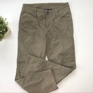 Kuhl Taupe Green Chino Hiking Pants Outdoor